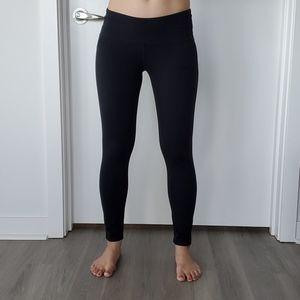 Black workout leggings